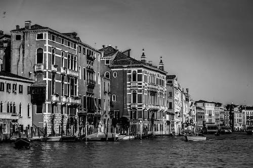 イタリア, ヴェネツィア, ウォーターフロント, ゴンドラの無料の写真素材