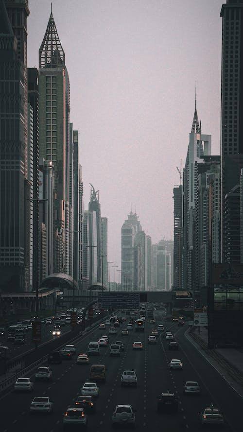 Immagine gratuita di autostrade, dubai, edifici