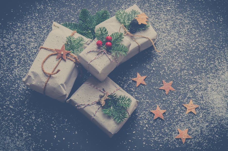Four Christmas-themed Boxes