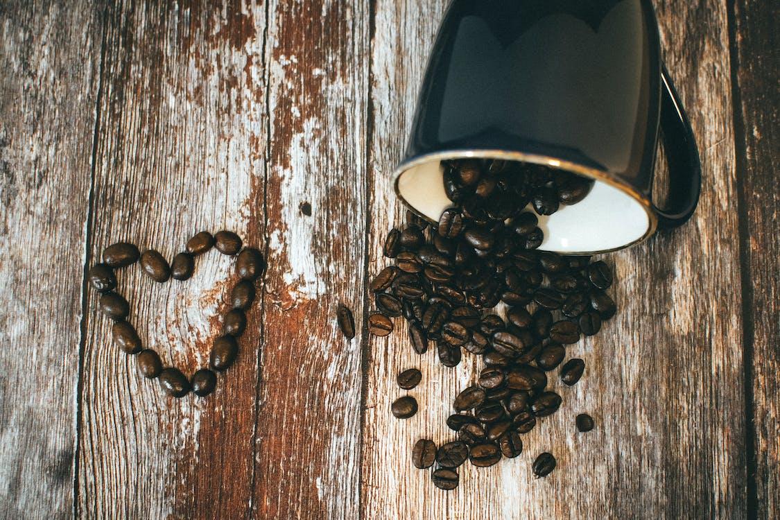 aromático, assado, cafeína
