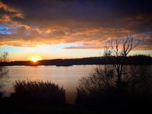 Gratis lagerfoto af naturfotografering, solnedgang