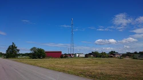 Kostnadsfri bild av blå himmel, telekommunikation