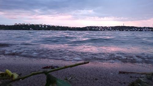 Kostnadsfri bild av sand, vågor bryter, vid havet
