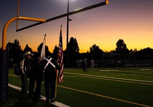 Безкоштовне стокове фото на тему «Photoshop, Америка, Американський прапор, атлети»