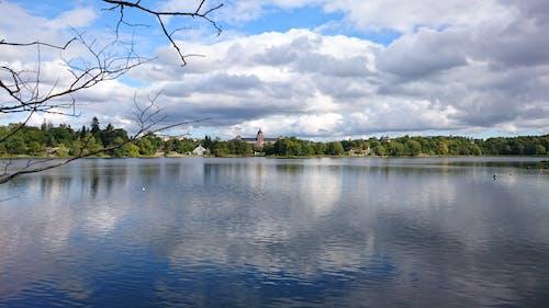 Immagine gratuita di cielo azzurro, lungomare