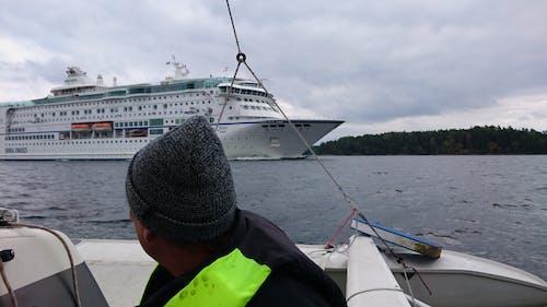 Immagine gratuita di barca a vela, nave da crociera