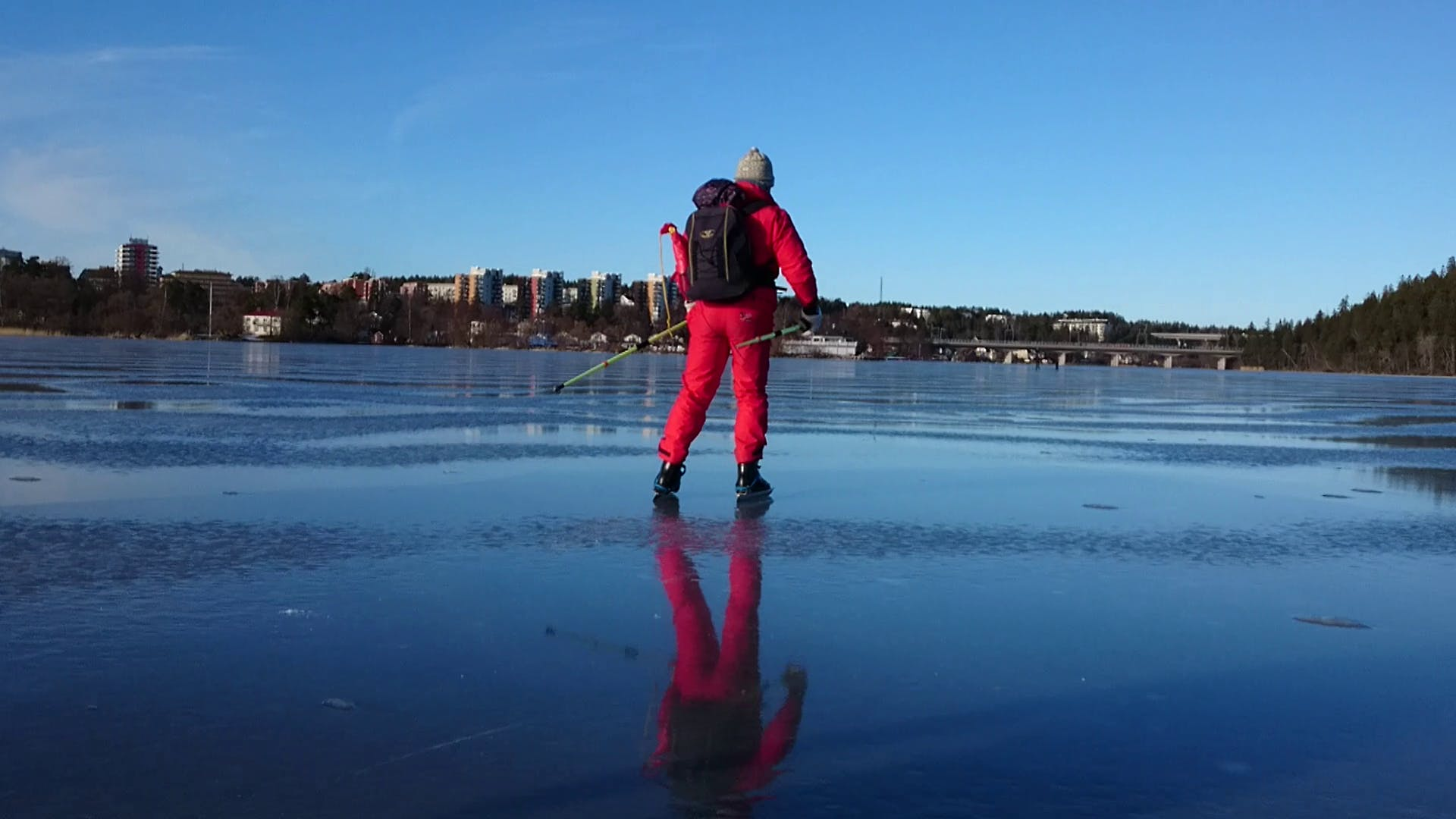 Free stock photo of winter, ice, long-haul skates