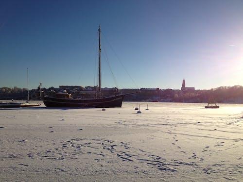 Fotobanka sbezplatnými fotkami na tému ľad, stará loď, zima