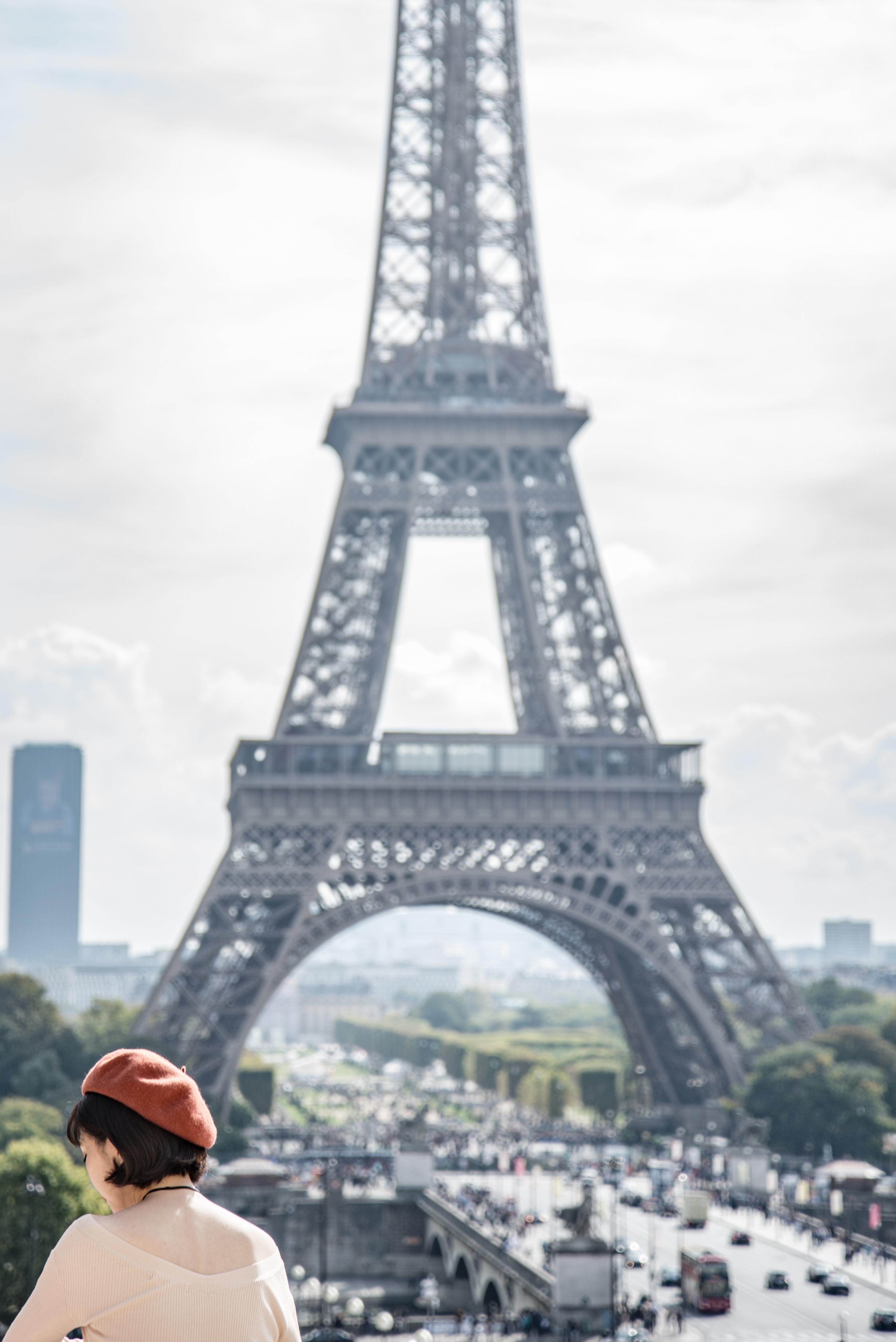 Eiffel Tower Scenery 183 Free Stock Photo