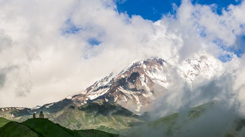 Δωρεάν στοκ φωτογραφιών με kazbek mount