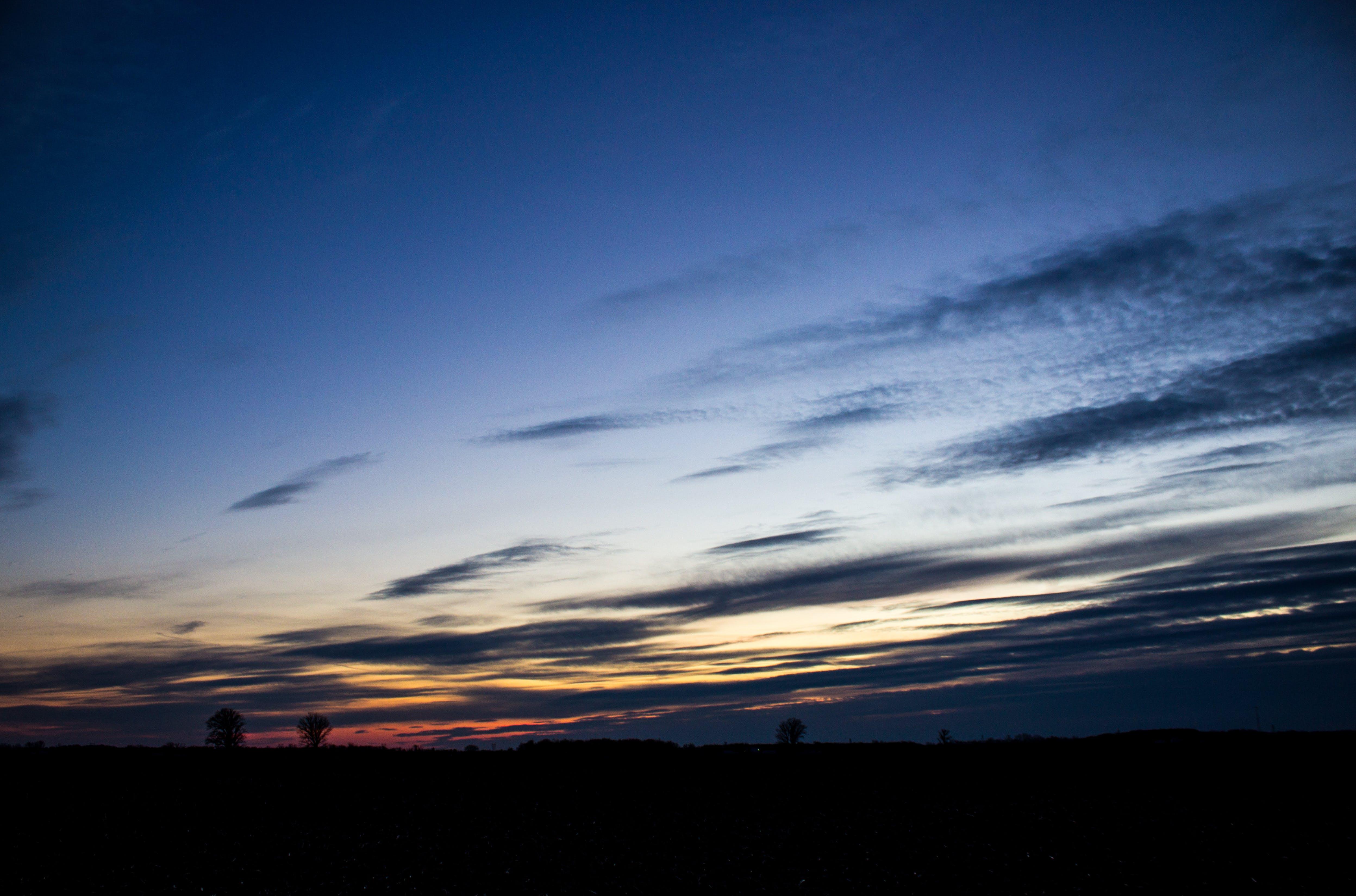 Free stock photo of sunset, canon
