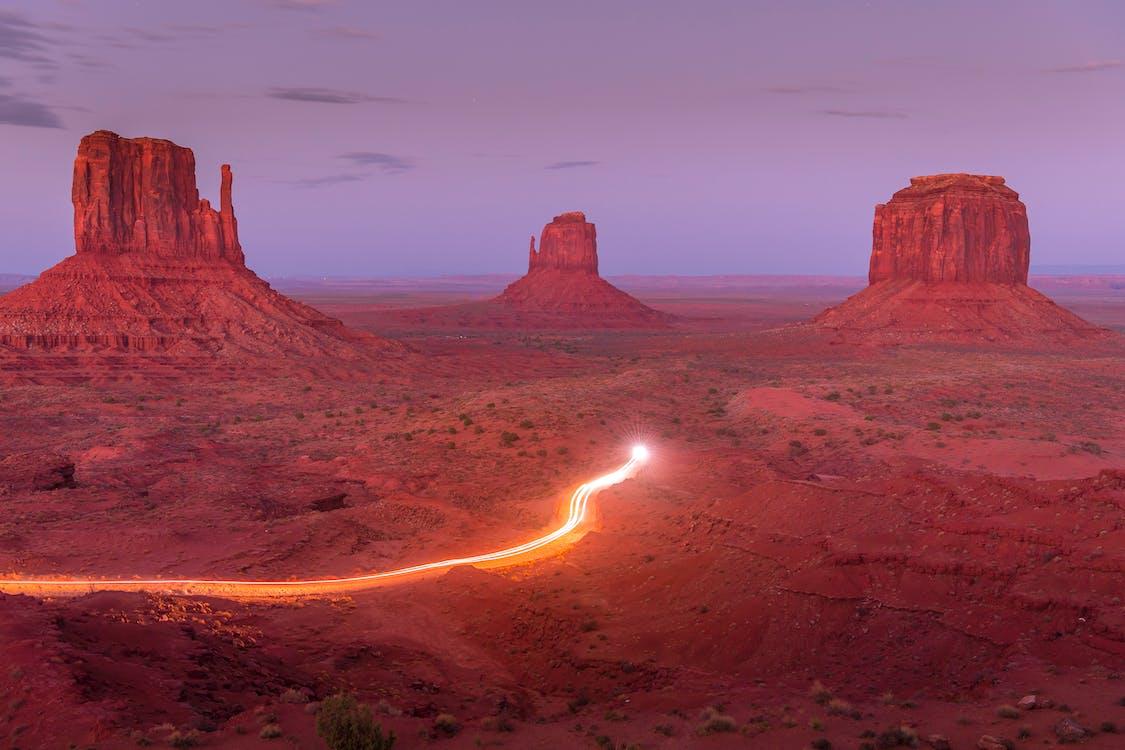 Бесплатное стоковое фото с Аризона, вечер, вид на закат