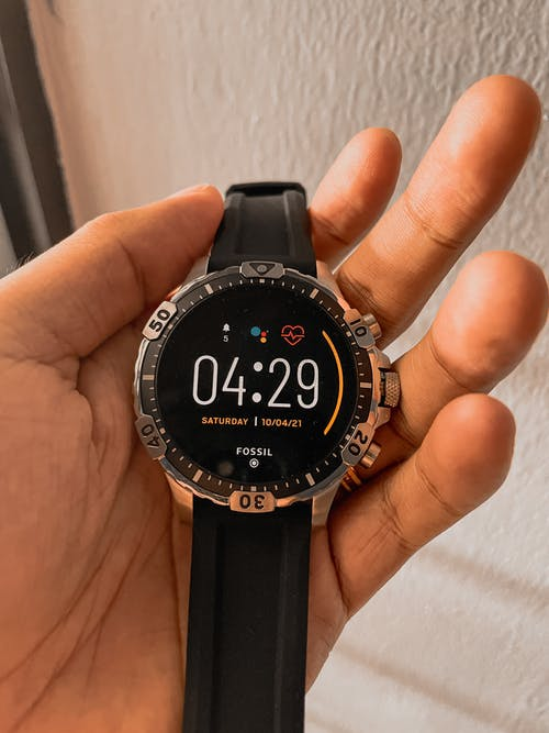 Free stock photo of fossil, smartwatch