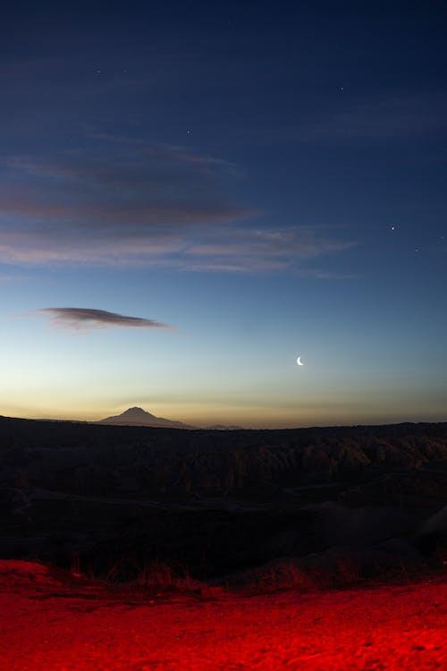 丘, 光, 夕方の無料の写真素材