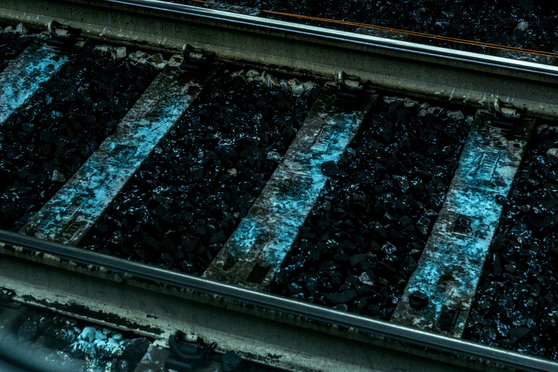 Gratis lagerfoto af farver, jern, jernbane, jernbaner