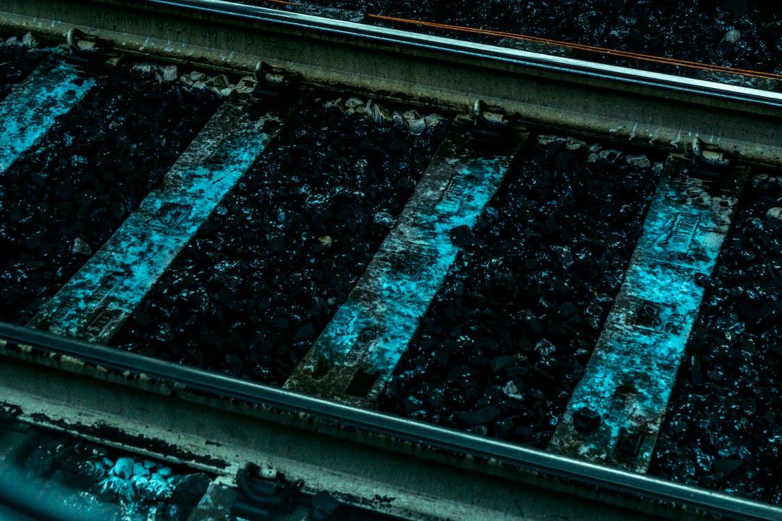 Gray Metal Railway