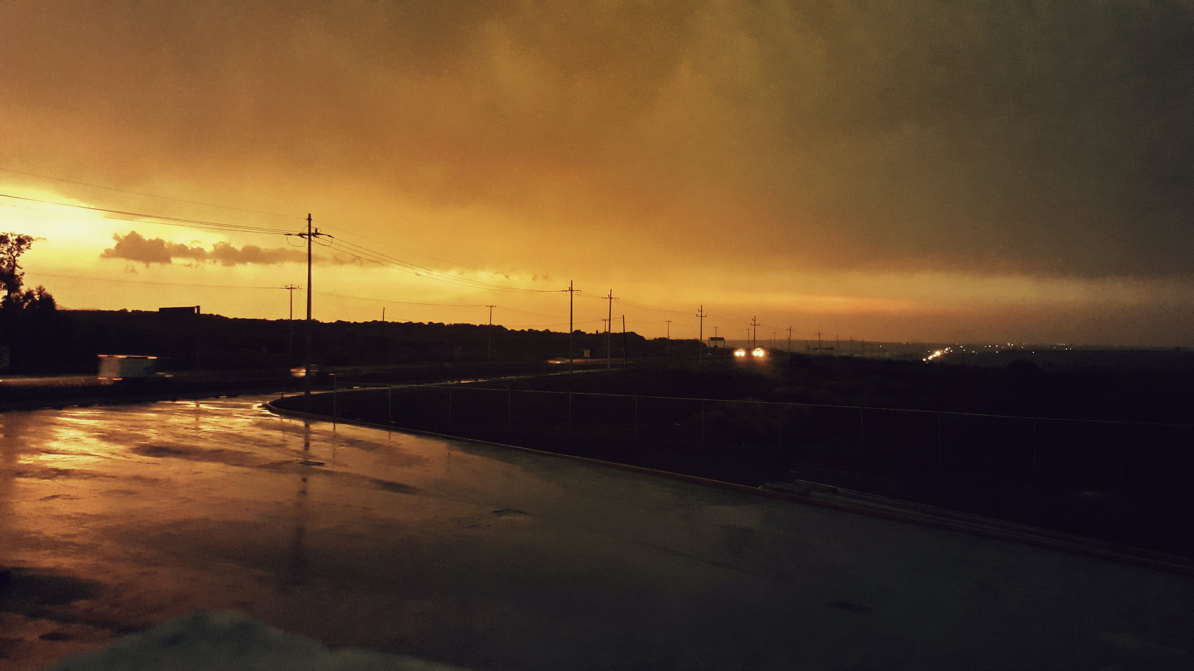 Free stock photo of after the rain, cloudy, highway, sunset