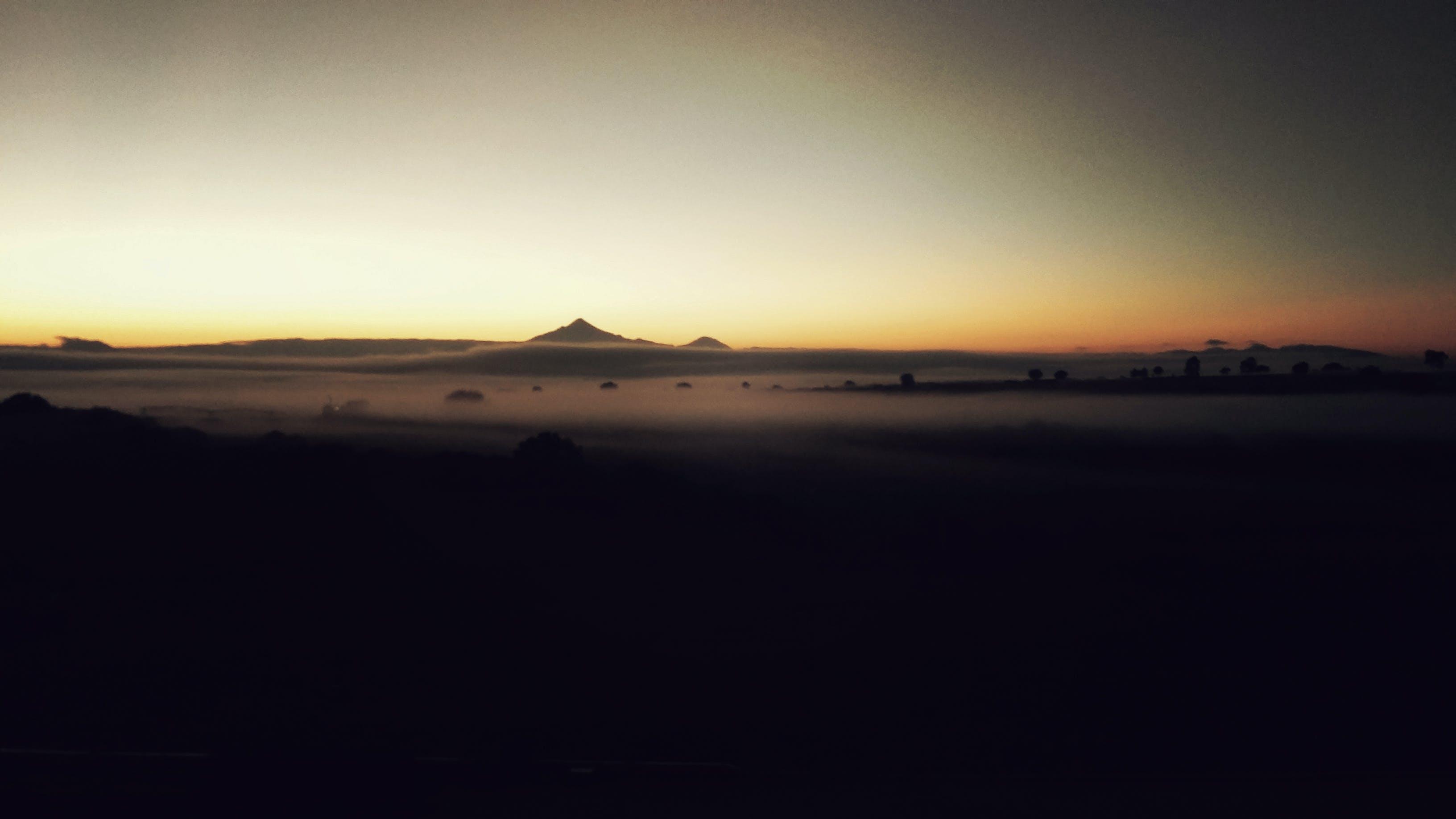 Free stock photo of dawn, fog
