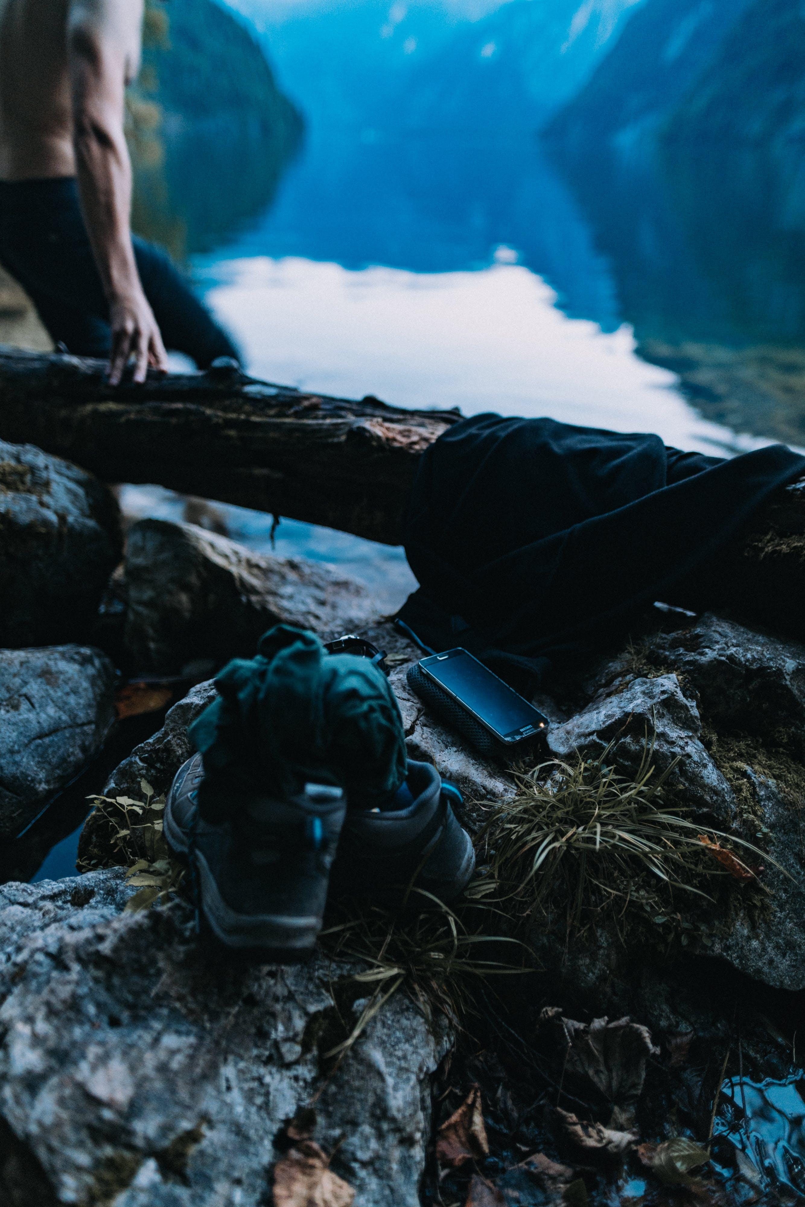 Ingyenes stockfotó elmosódott háttér, félmeztelen, Férfi, hegyek témában