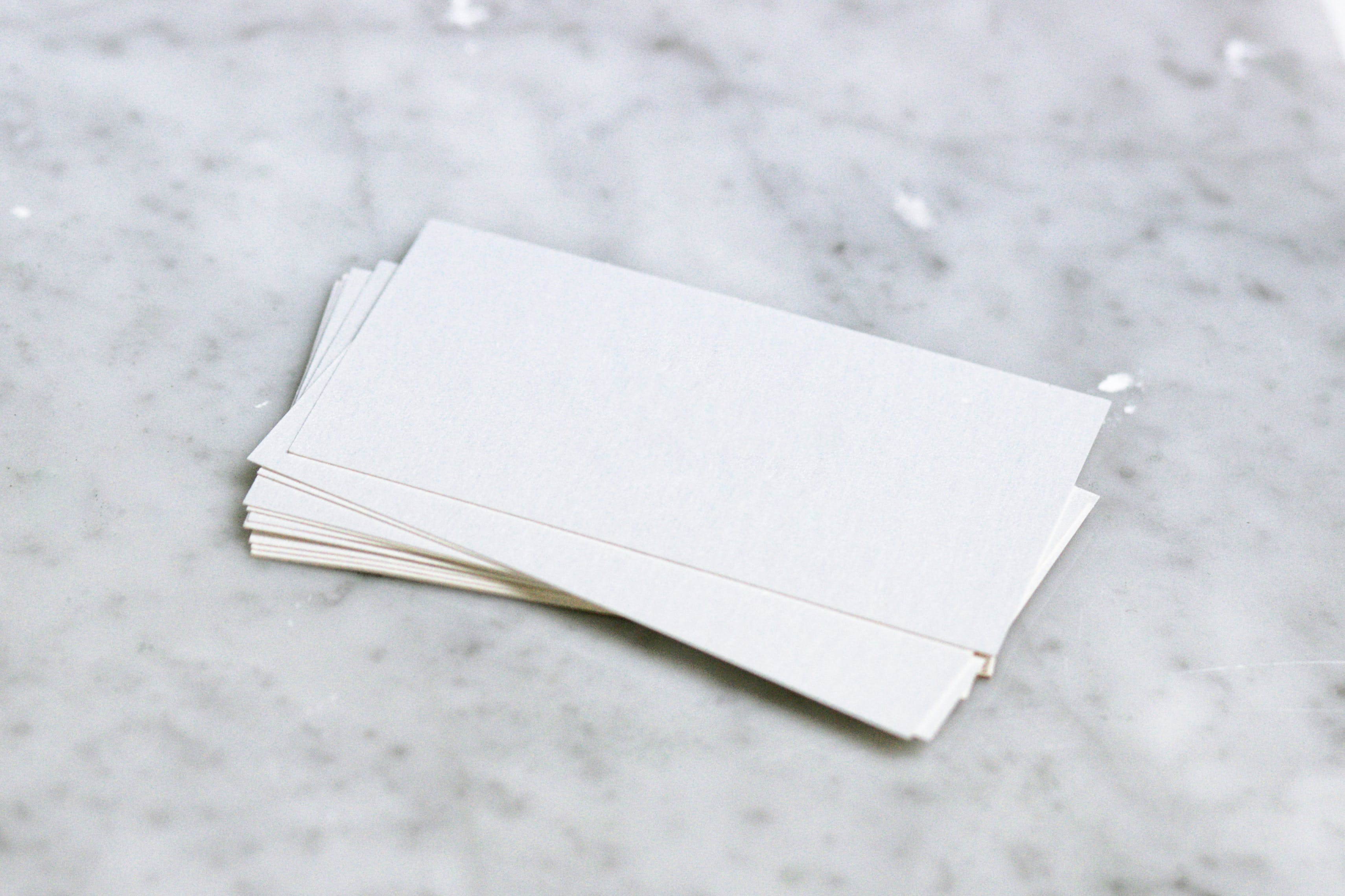 Free stock photo of blank, business, business card, business card design