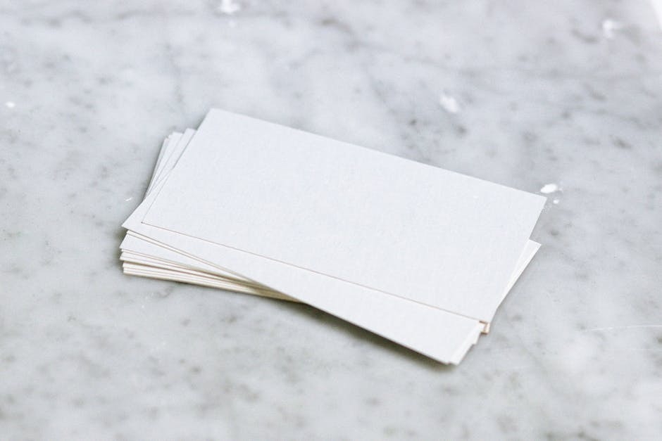 Free stock photo of blank, business, business card