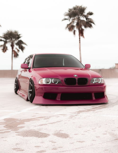 Red Bmw M 3 Coupe