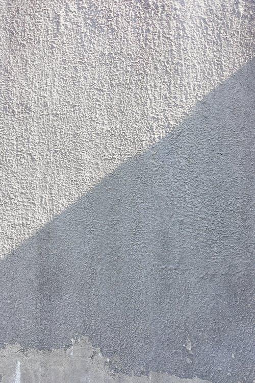 Blue Textile on Gray Textile