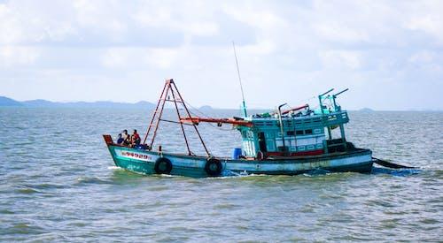 ボート, 漁船の無料の写真素材