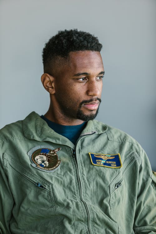 Portrait Photo of Soldier