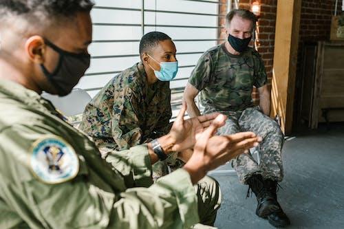 Ingyenes stockfotó amerikai haditengerészet, amerikai hadsereg, csoportterápia témában