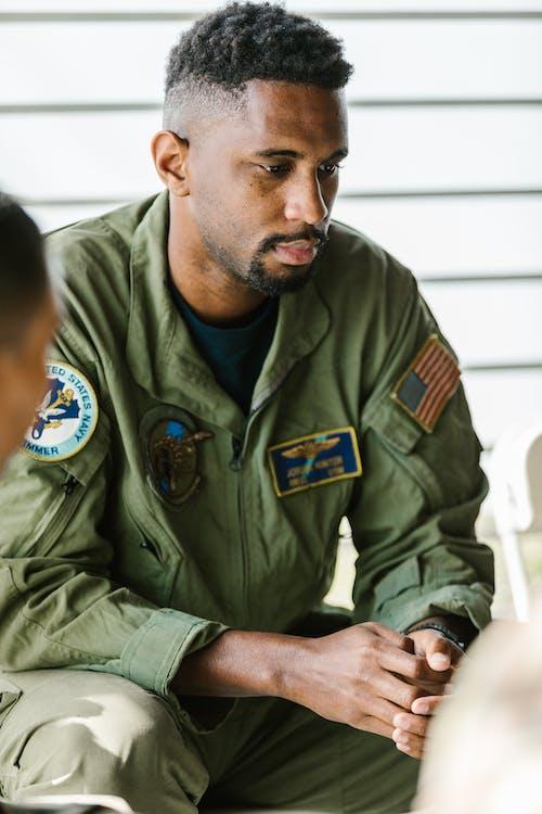 Fotobanka sbezplatnými fotkami na tému americká armáda, bojový veterán, bradatý
