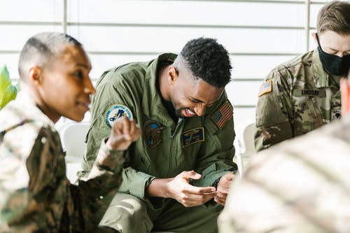Photos gratuites de anciens combattants, armée américaine, bonheur