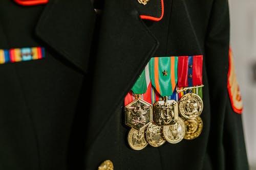 골드, 군대, 군복의 무료 스톡 사진