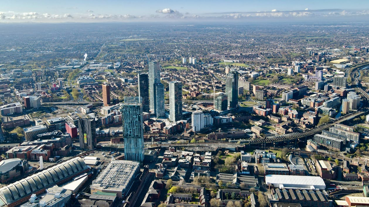 Free stock photo of Bentham tower, city, manchester