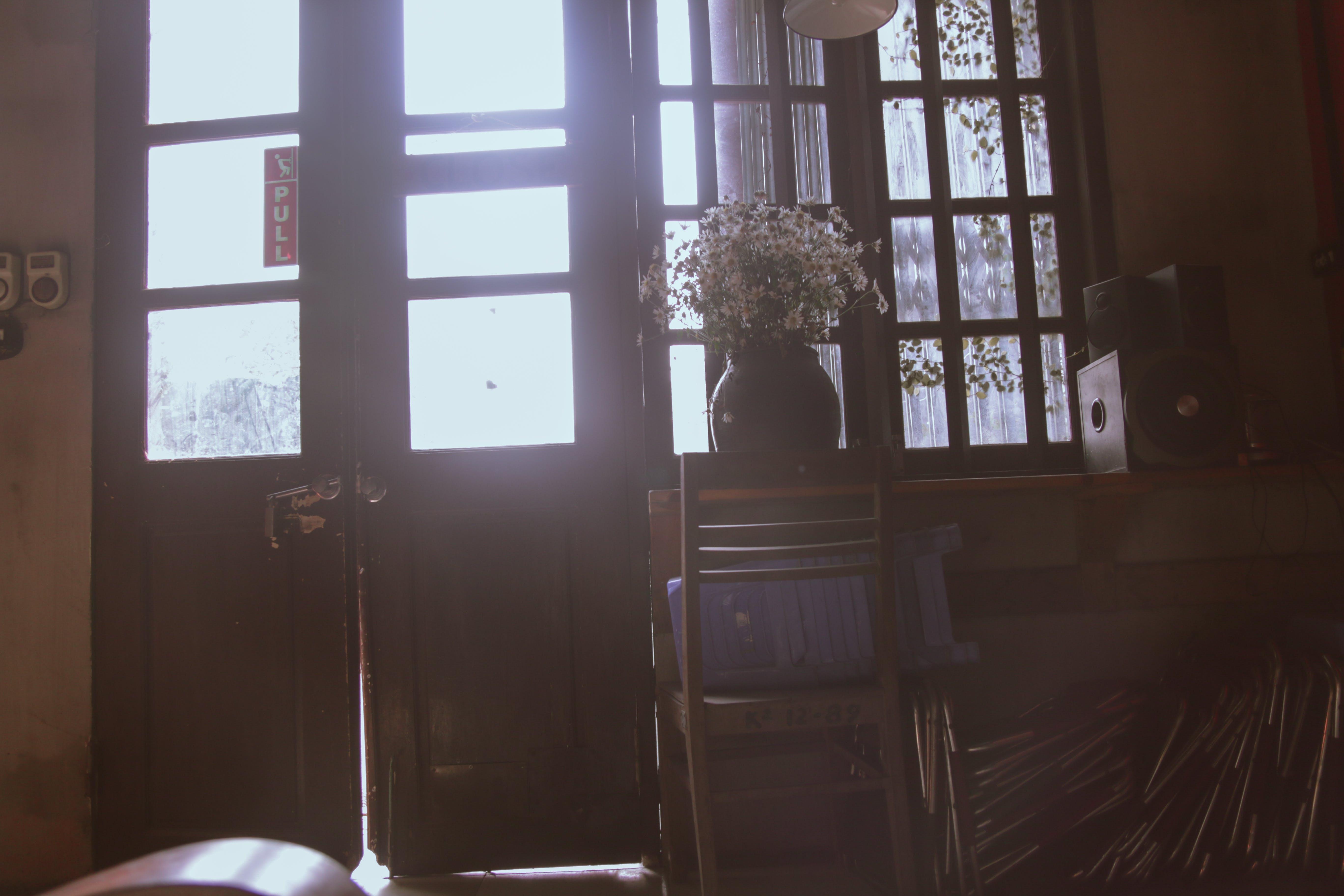 Photo of Closed Brown Wooden Door
