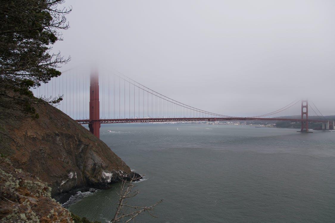 golden gate bridge, nebel, san francisco