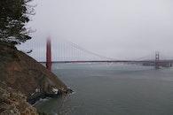 fog, mist, golden gate bridge