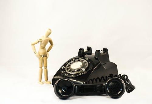 Antik, antika, bağbozumu, çevirmeli telefon içeren Ücretsiz stok fotoğraf