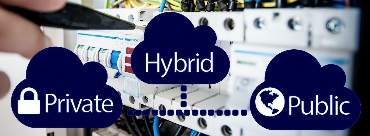 Free stock photo of cloud, cloud computing, Hybrid Cloud