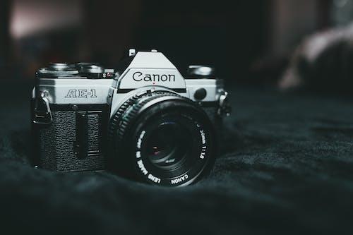 Close-Up Shot of an Analog Camera
