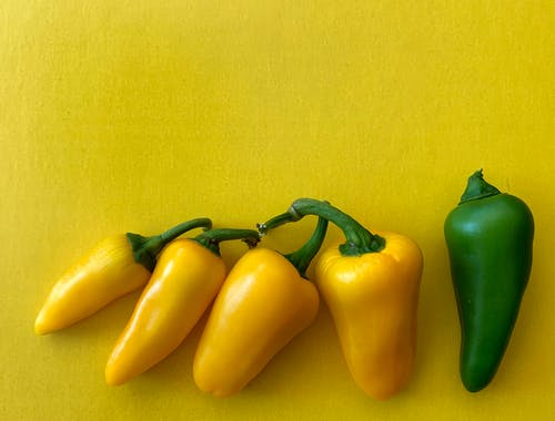 Free stock photo of bell pepper, yellow