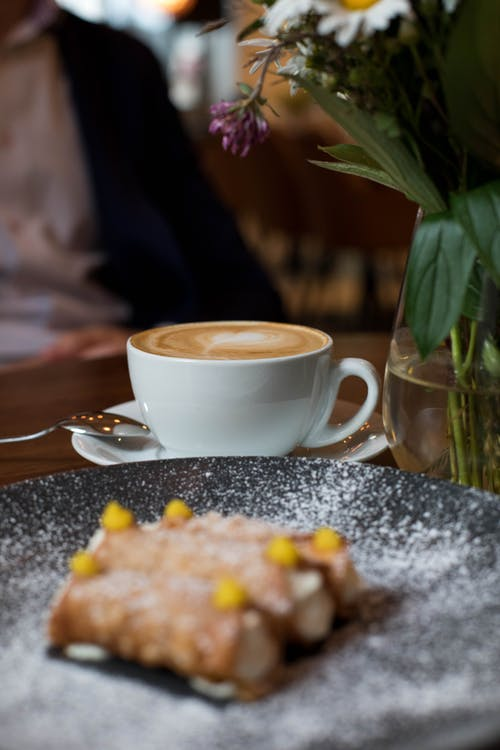 Kostenloses Stock Foto zu dämmerung, espresso, essen