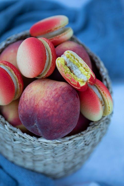 Fotos de stock gratuitas de angulo alto, apetitoso, azúcar