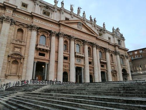 Exteriors of St Peters Basilica