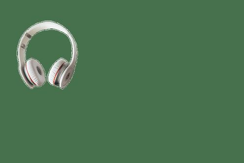 Gratis arkivbilde med design, farge, hodetelefon, hvit hodetelefon