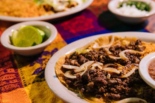 Free stock photo of food, ground beef, Mexican Food
