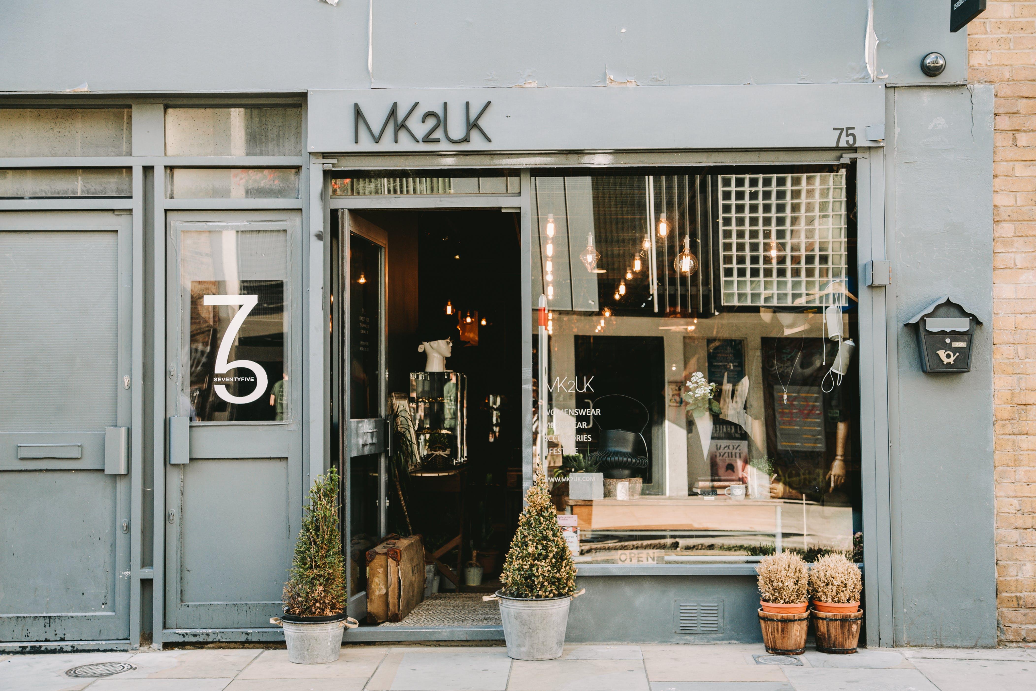 Photo of Black Store Facade
