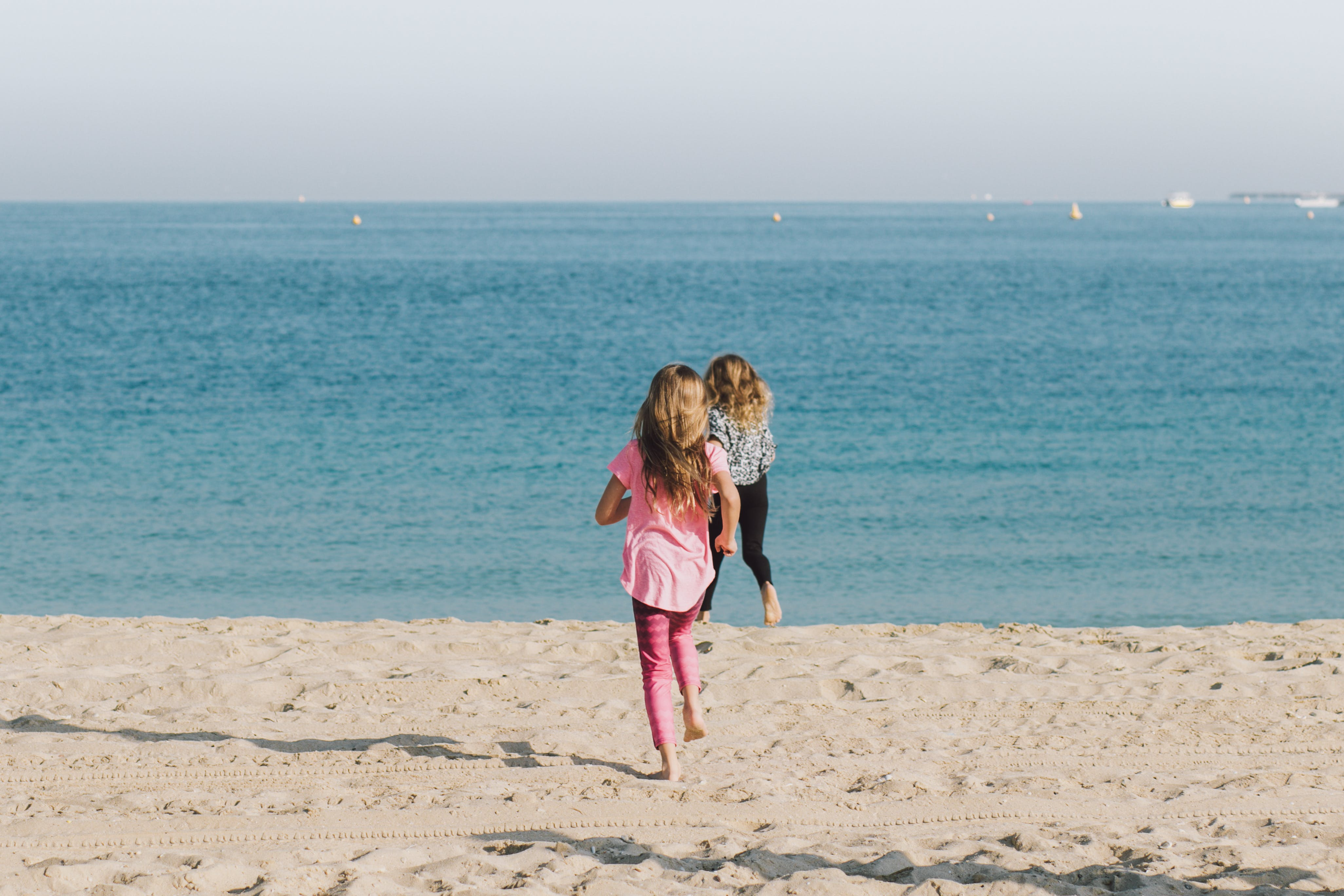 Free stock photo of beach, child, coast, family
