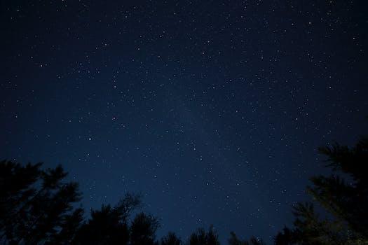 Free Stock Photo Of Sky Night Stars Black Wallpaper