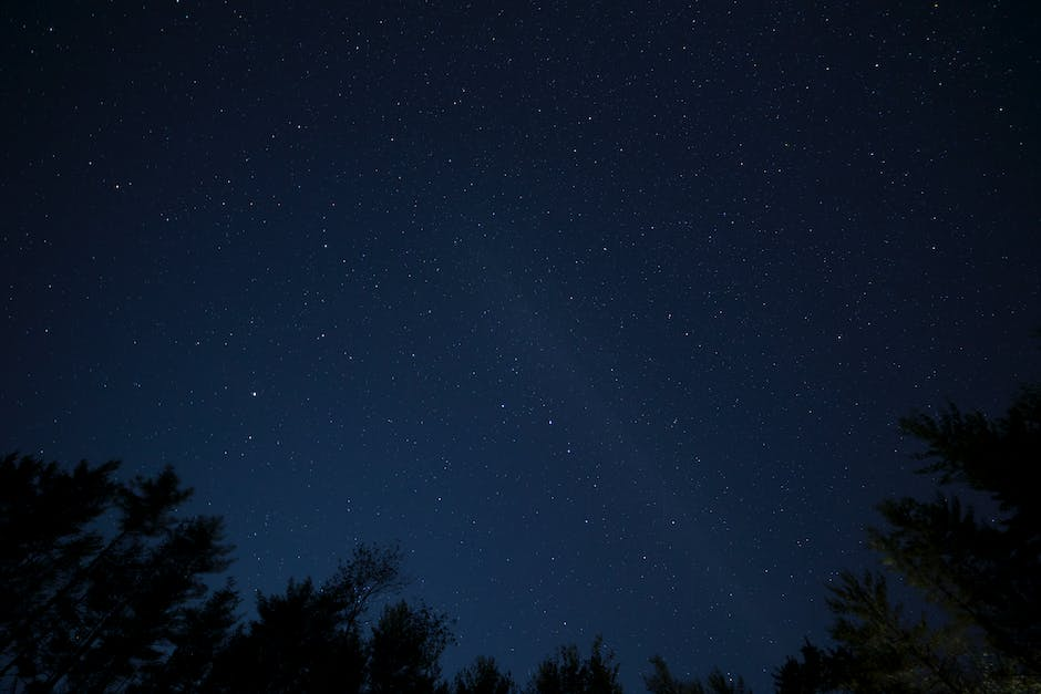 Worm's Eye View Photography of Starry Night
